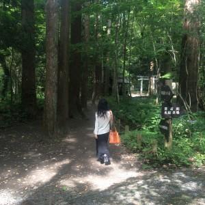 十和田湖5 開運の小道2